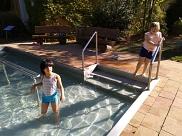 Badespaß in der Septembersonne