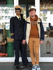 Der Käpt`n in Bremerhaven