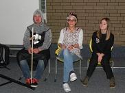 Die kompetente Jury des Kostümwettbewerbs