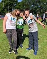 Drei Leichtathleten der S1