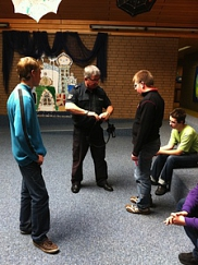 November- Gewaltprävention mit Herrn Grulke von der Polizei