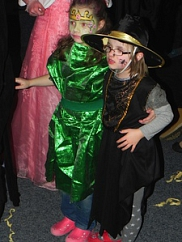 Hexe und Prinzessin
