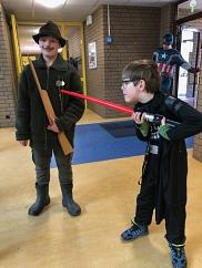 Jäger und Darth Vader