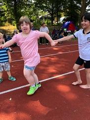 Junge Läufer