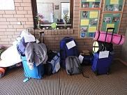 Die Koffer stehen bereit!