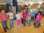 P1 mit ihren Musikinstrumenten