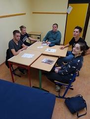 Die Teilnehmer des Rollenspielprojekts bei ihrem vorerst letzten Spiel!