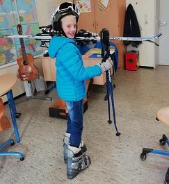 Skiausrüstungstest©Helen-Keller-Schule