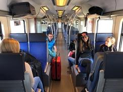 Start mit der S-Bahn