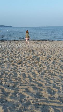 Strandläuferin