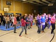 Gemeinsamer Tanz aller Teilnehmer