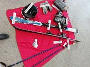 Was man zum Skifahren so braucht....