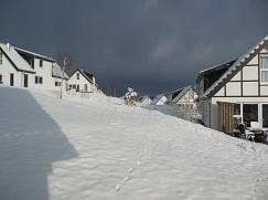Winterstimmung im April